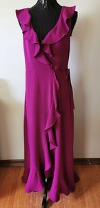 Leith Maxi Wrap Dress Size Medium